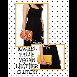 RACHEL PALLY FabFitFun Vegan Leather Clutch NEW 75